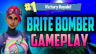 🔥 * NEW WEAPON IN ACTION! * I BOUGHT A SKINA BRITE BOMBERKE | Fortnite (Battle Royale)