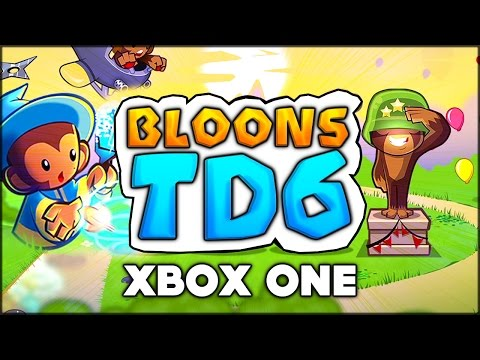 WOAH!!! A BRAND NEW BLOONS GAME? BTD 6? NEW BLOONS ON XBOX ONE (BTD 5 / Bloons Tower Defense 5)