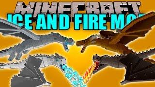 ICE AND FIRE MOD - Dragones Epicos!! - Minecraft mod 1.10.2 Review ESPAÑOL