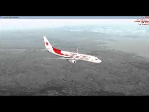 [FSX | IVAO] Vol Commenté Alger - Oran | Boeing 737-800 NGX | partie 2