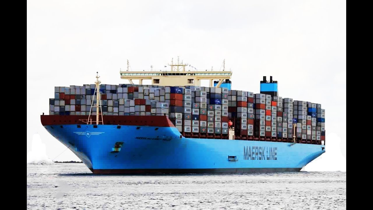 Oocl atlanta le plus grand porte conteneur au monde - Le plus grand porte conteneur du monde au havre ...