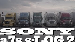 Truck Stop: a7s sLOG 2 (ungraded footage)