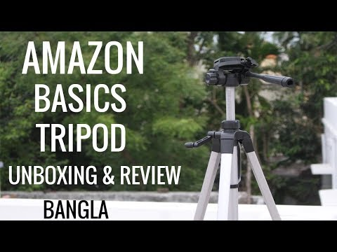 Amazon Basics 60 inch Tripod Unboxing And Review । My Honest Opinion To ...