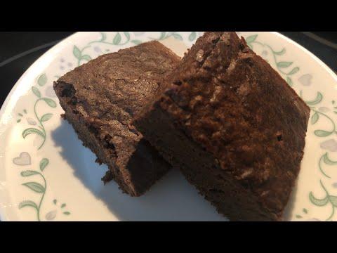 Weight Watcher Friendly Black Bean Brownies 4 SmartPoints!!