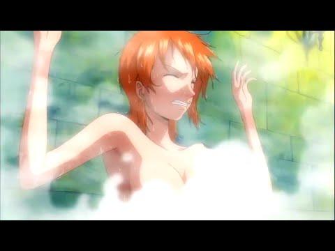 One Piece Nami Sexy bathroom Ep  341 HD