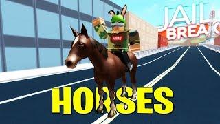 HIDDEN HORSE EASTER EGG!! ROBLOX Jailbreak