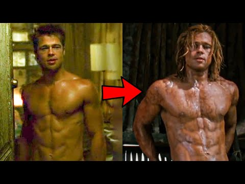 Brad Pitt's Steroid Cycle Natural In Fight Club Or Troy?