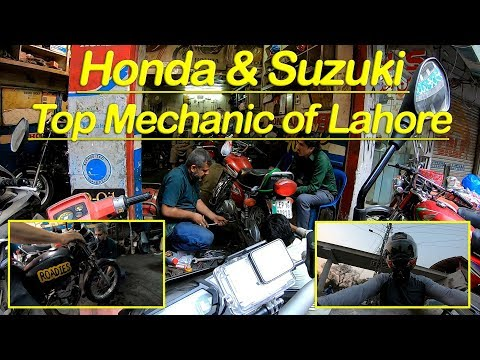 Best Bike Mechanic In Lahore | Honda | Suzuki | Roadies | Umar Sharif