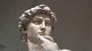 ミケランジェロ作 ダビデ像(イタリア・フェレンツェ/アカデミア美術館所蔵)