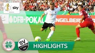 Rot-Weiß Oberhausen - SV Sandhausen 0:6 | Highlights - DFB-Pokal 2018/19 - 1. Runde