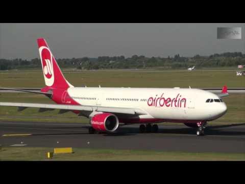 Aircraft Spotting at Dusseldorf Airport (EDDL) 06-09-2013