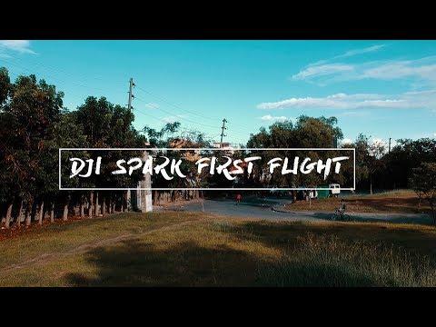 DJI Spark first flight - Cebu, Philippines