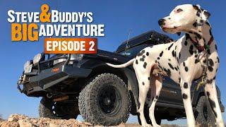 ONTO THE OODNADATTA TRACK (EP2) | Steve & Buddy's Big Adventure