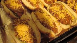 Food Friday: Oven Baked Chili Dogs