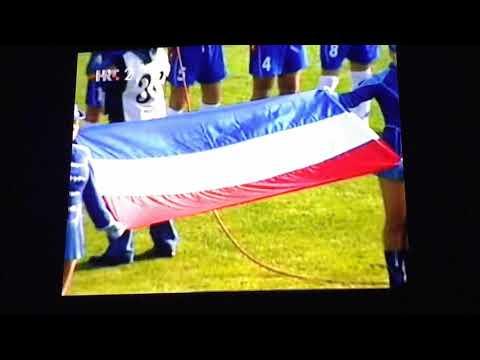 anthem serbia and montenegro U-21 vs croatia hej sloveni srbija i crna gora vs hrvatska 2005