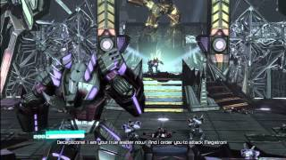 Transformers Fall of Cybertron: Ch. IX (Megatron Returns) [1080 HD]