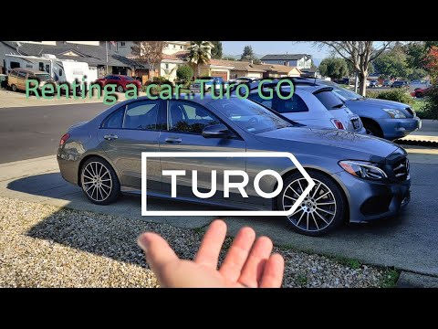 Renting A Car Using TURO GO