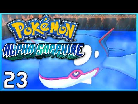 Pokemon Alpha Sapphire Part 23 - Kyogre Awakened ORAS Gameplay Walkthrough