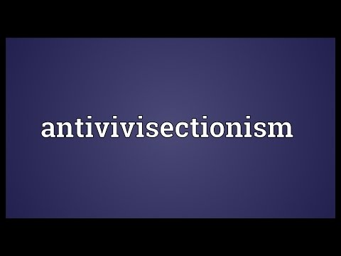 Header of antivivisectionism