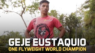 ONE Feature   Geje Eustaquio Ready For Biggest Challenge Of His Career