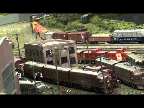 Lehigh Valley Railroad Steam at Bethlehem Engine Terminal (L&KV Model Railroad Museum)