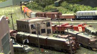 Lehigh Valley Railroad Steam at Bethlehem Engine Terminal (L&KV Model Railroad Museum)