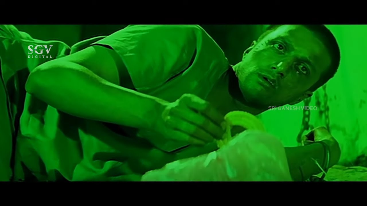 Lover Comes To See Sudeep In Mental Hospital   Rekha Vedavyas   Huccha Kannada Movie Best Scenes