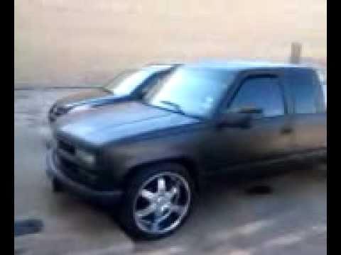 2010 Gmc Sierra 1500 >> 1998 chevy silverado on 24s - YouTube