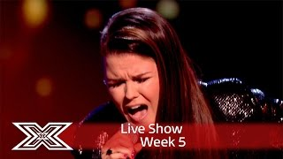Saara Aalto fights for her place in the sing-off! | Results Show | The X Factor UK 2016