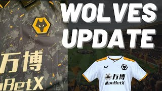 WOLVES UPDATE 🐺  New leaked pictures of Away & 3rd kit and a look ahead to Stoke, Coventry & more