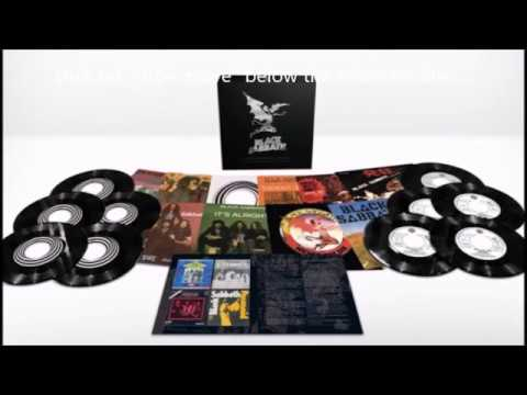 Black Sabbath new Supersonic Years - The Seventies Singles Box Set..!