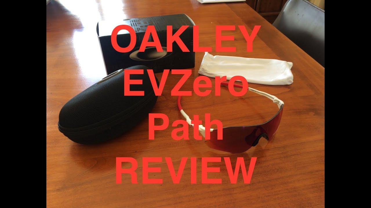 Oakley Evzero Path Prizm Sunglasses Review Youtube