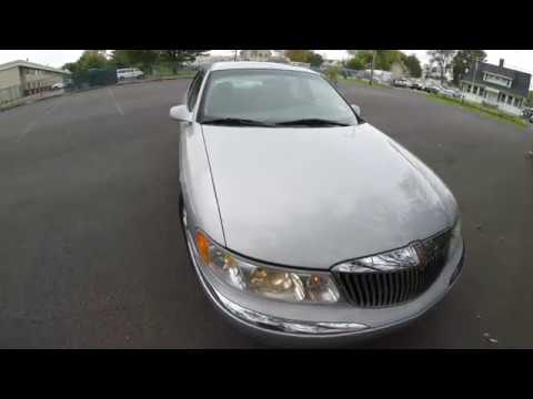 4K Review 2001 Lincoln Continental Virtual Test-Drive & Walk-around