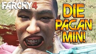 PAGAN MIN DEATH MONTAGE! (Far Cry 4 Map Editor Fun)