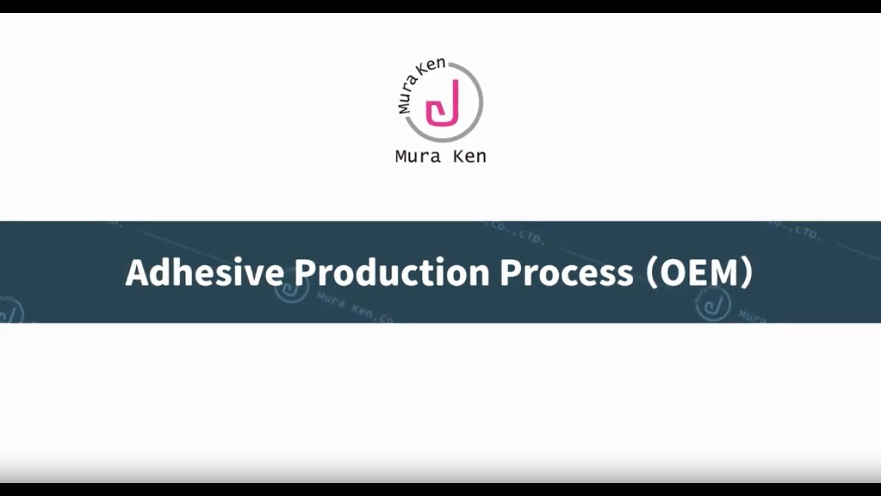 Production of Eyelash Extension Glue - Mura Ken