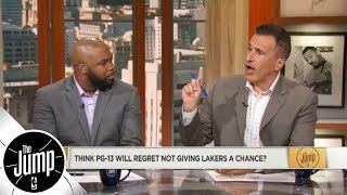 Will Paul George regret not giving Lakers and LeBron James a chance? | The Jump | ESPN