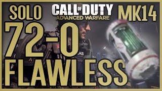 "AW: 72-0 FLAWLESS w/ ""MK14"" & ""DNA BOMB"" - Call of Duty: Advanced Warfare"