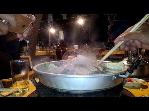 Korean Barbecue in laos Style – Asian food in savannakhet laos