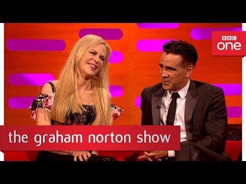 Nicole Kidman ruffled by Alexander Skarsgard kiss pic! - The Graham Norton Show: 2017 - BBC One