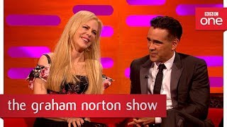 Nicole Kidman ruffled by Alexander Skarsgard kiss pic! - The Graham Norton Show: 2017 - BBC One
