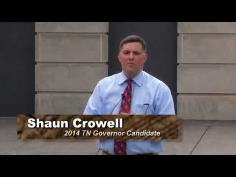 Shaun Crowell for Governor Constitution Party Rally Highlights