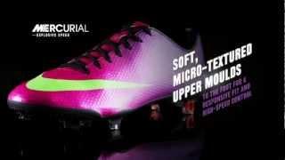 Nike Mercurial productvideo - Voetbalshop.nl
