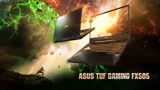 TUF GAMING FX505DD/DT/DU - Powered by AMD Ryzen & GeForce GTX 16 series