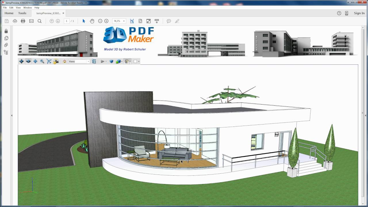 86+ 3d Home Design Tutorial Pdf - 3D PDF Maker StandAlone Tutorial ...