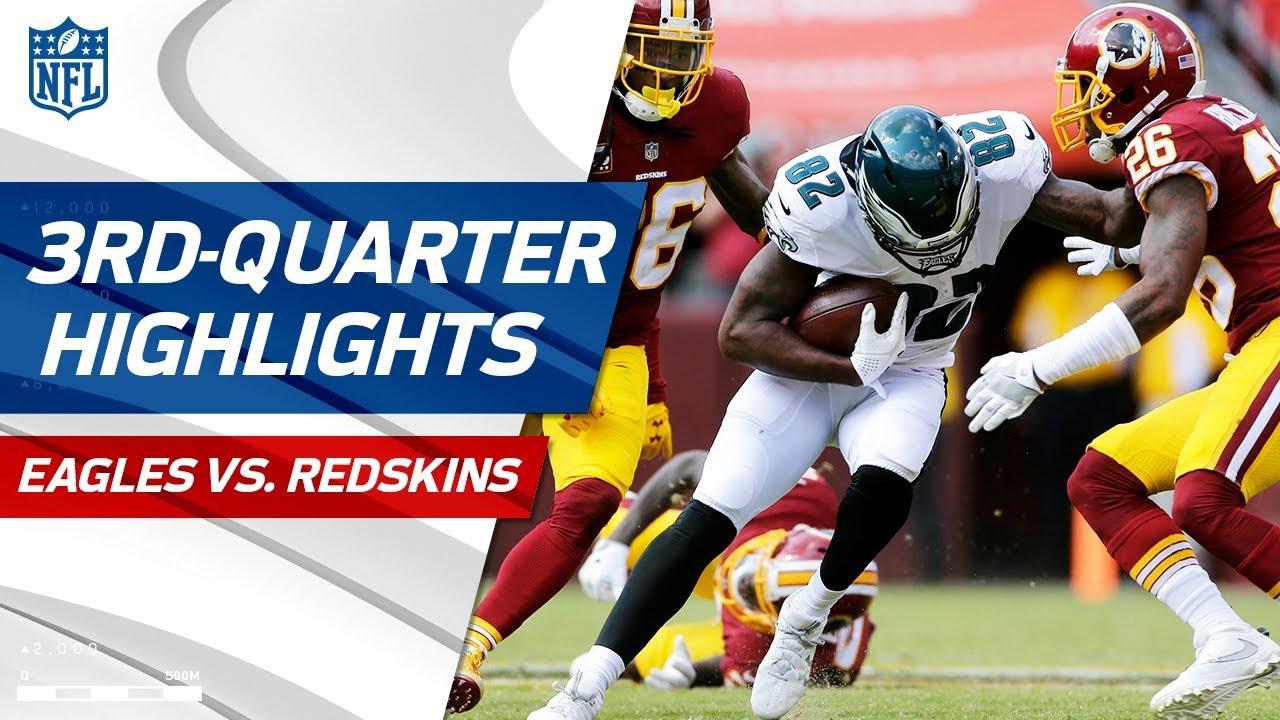 Eagles Vs Redskins Third Quarter Highlights Nfl Week 1