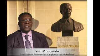 Video message Mandela Day 2020, South African Embassy Netherlands & Carnegie Foundation-Peace Palace