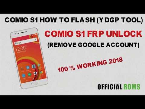 comio s1 frp unlock New method 2017