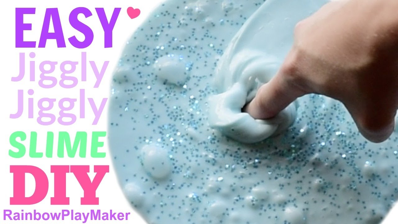 Diy jiggly slime how to make fast easy plus fluffy jiggly how to make fast easy plus fluffy jiggly slime and floam ccuart Choice Image