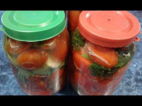Как засолить помидоры в банке под капроновой крышкой