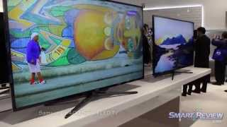 CES 2013 | Samsung HDTV Lineup | New Models | OLED Technology and 4K UHD TVs